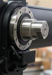 Renishaw's RGH40 optical readhead obtains position feedback from the RESR stainless-steel ring and is integrated into the VR camera jib system