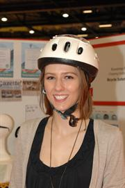Roxanne Pollard and her innovative Bicycle Safety Helmet