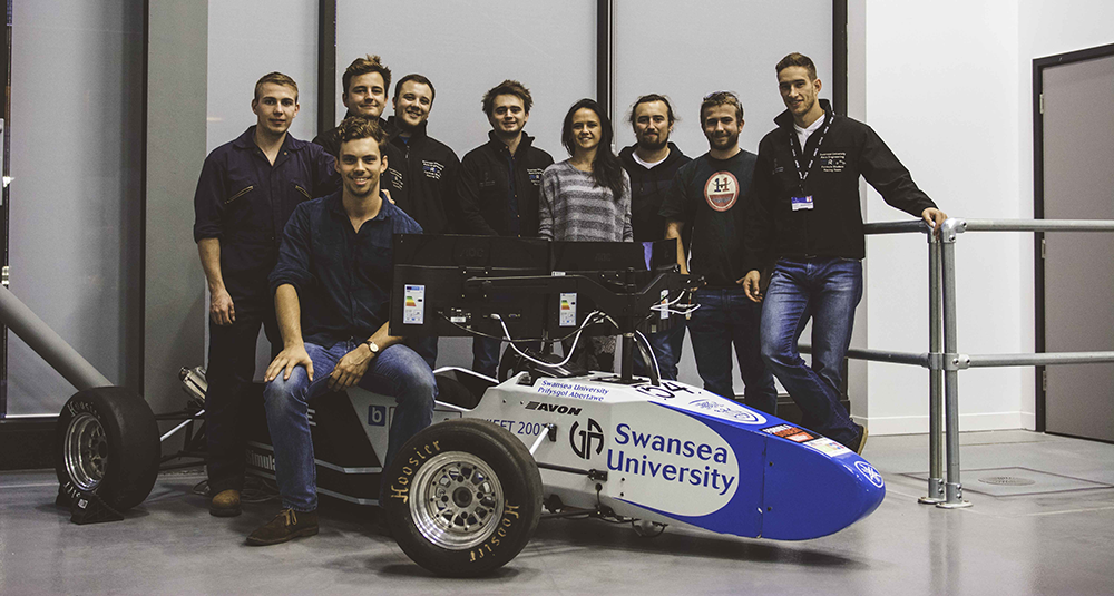 Swansea Formula Society of Automotive Engineers (FSAE) team, swansea university