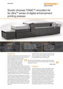 Case study:  Scodix chooses TONiC™ encoders for its Ultra™ series of digital enhancement printing presses
