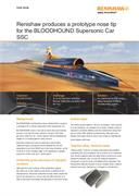 Case study:  Renishaw produces a prototype nose tip for the BLOODHOUND Supersonic Car (SSC)