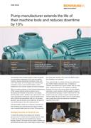 Case study: Aquasub Engineering - Pump manufacturer extends the life of their machine tools and reduces downtime by 10%