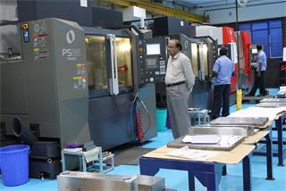 Vasantha Case study: Machining set up at Vasantha Tool Crafts Pvt. Ltd.